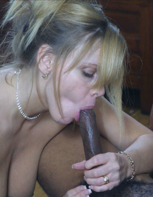 Big black cock white mom