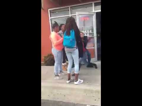 Two girls fighting over dick