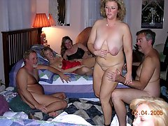 Nude mature swingers party