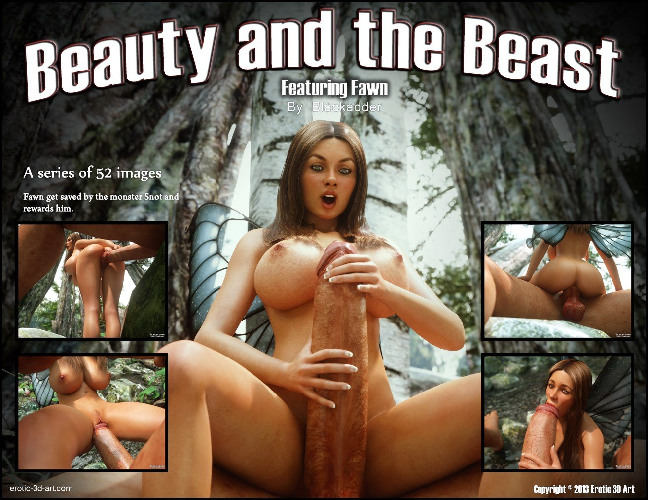 Beauty and the beast porn comic