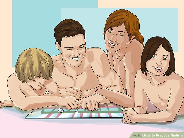 Families nude beach erection