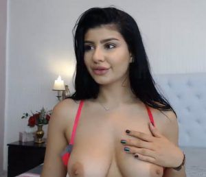 Horny sexy naked woman