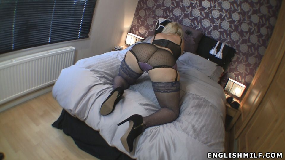 Ass english milf stockings big and