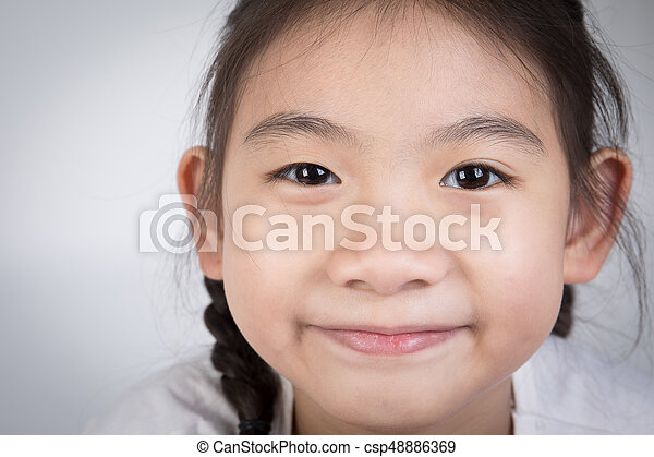Asian cute face girl
