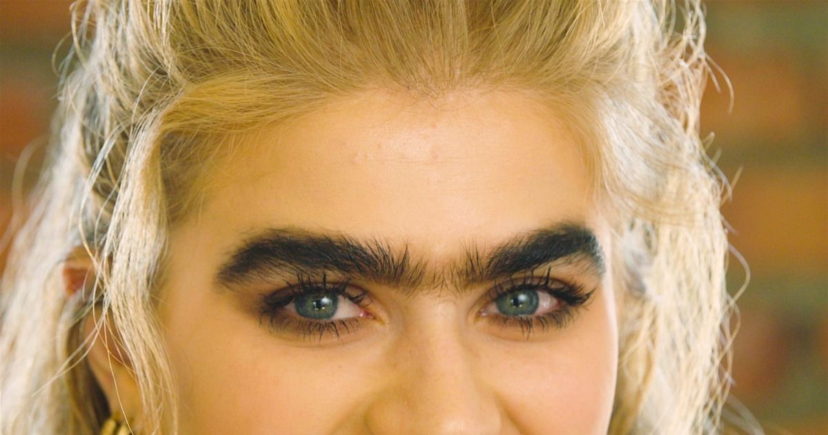 Unibrows and hairy palms