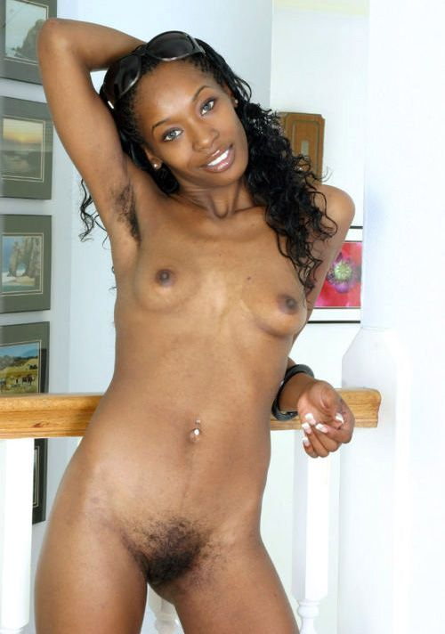 Naked sexy african slim ladys