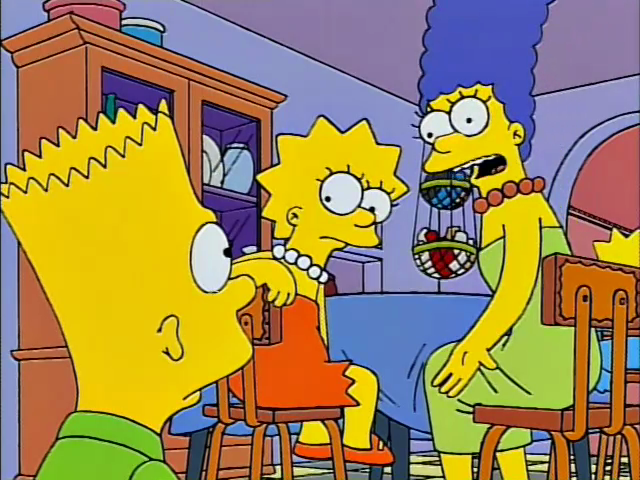 The simpsons marge and bart sex