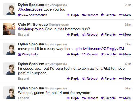 Dylan and cole sprouse nude