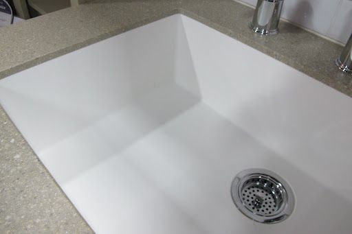Corian sink bottom grid