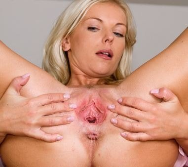 Porn with different shape of vaginal
