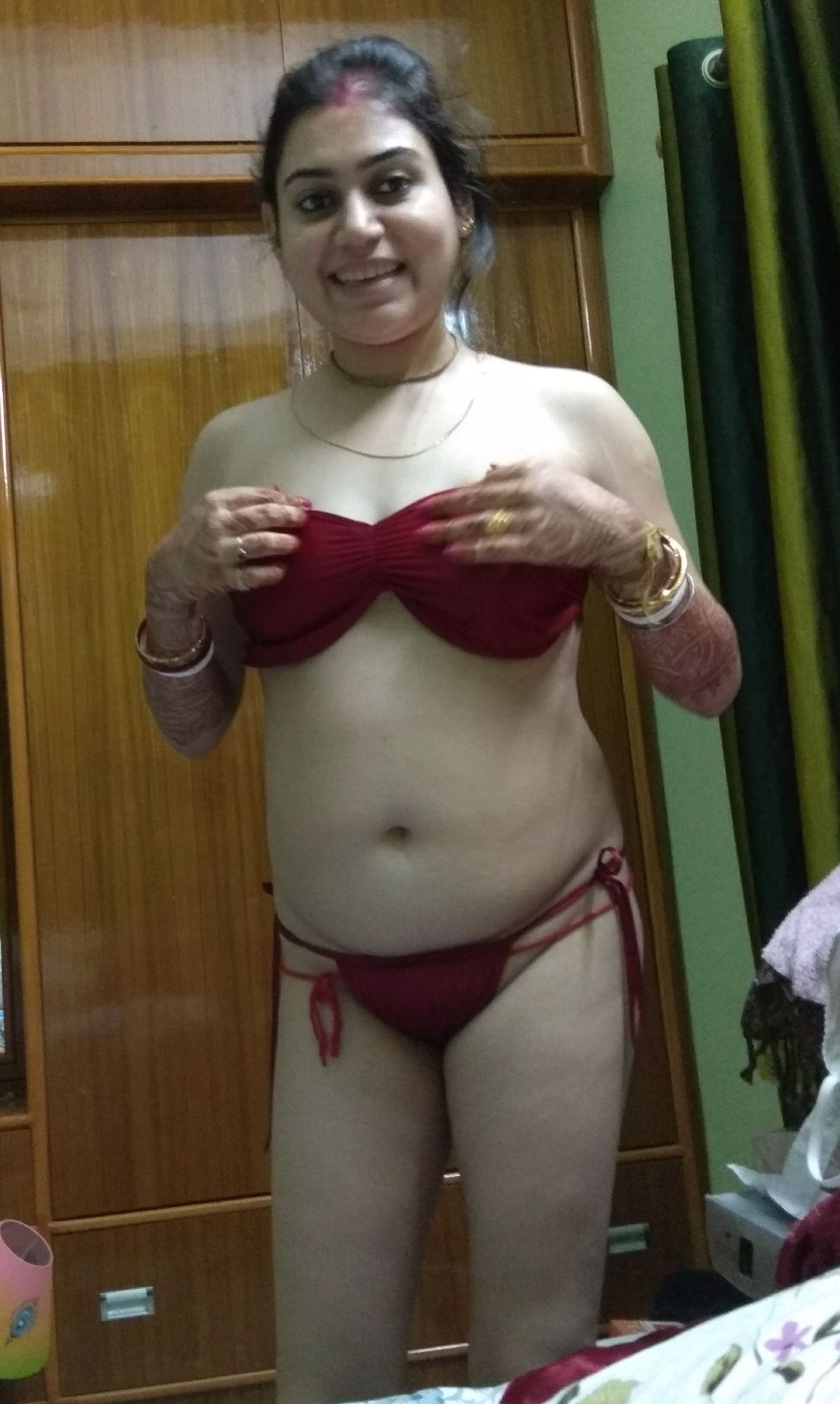 Nude indian newly wife