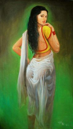 Best erotic indian nude painting