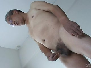 Japanese daddy fat cock sex