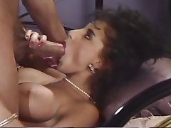 Peter north cum shot pearl necklace