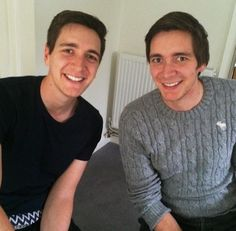 James and oliver phelps nude