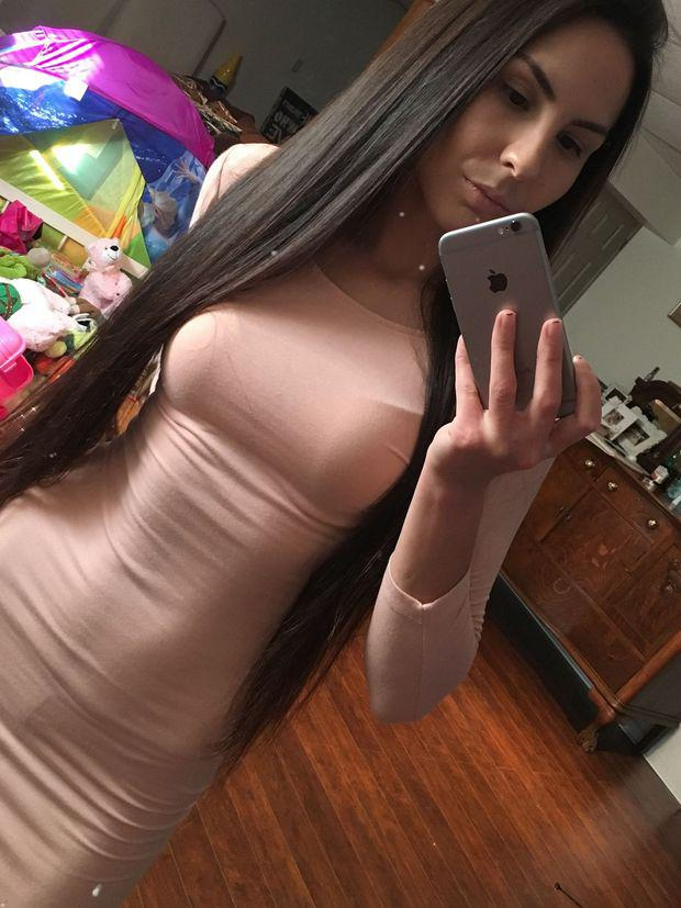 Cell phone self shot asian nudes