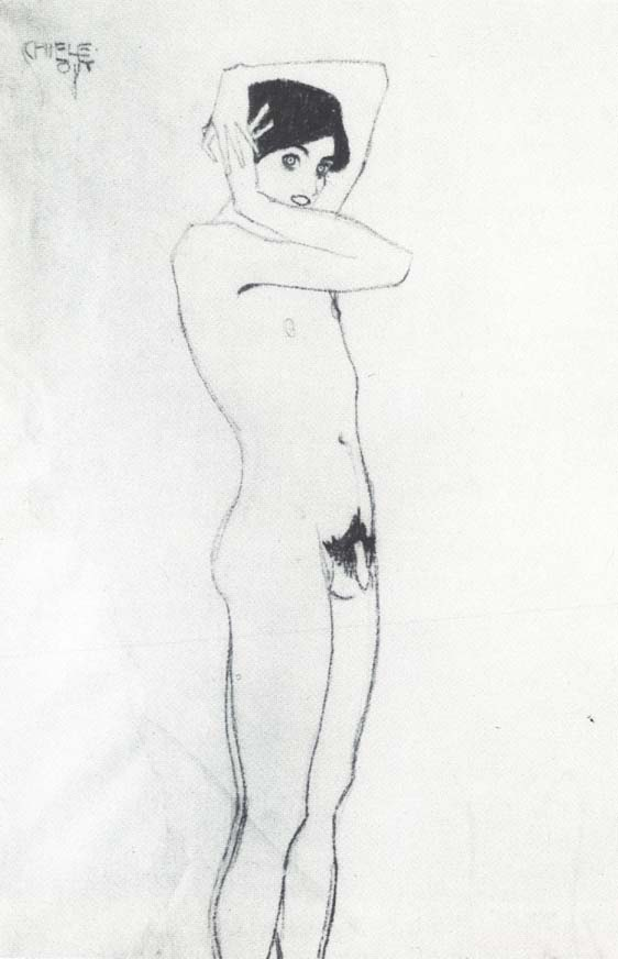 Art nude in boys
