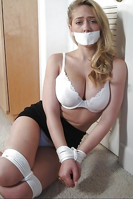 And tied gagged woman nude