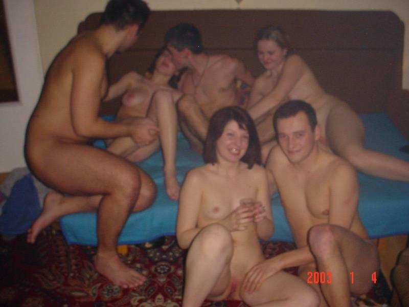 Amateur homemade swinger party