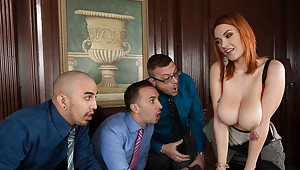 Office interview naked humiliation