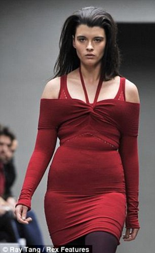 Plus size model crystal renn