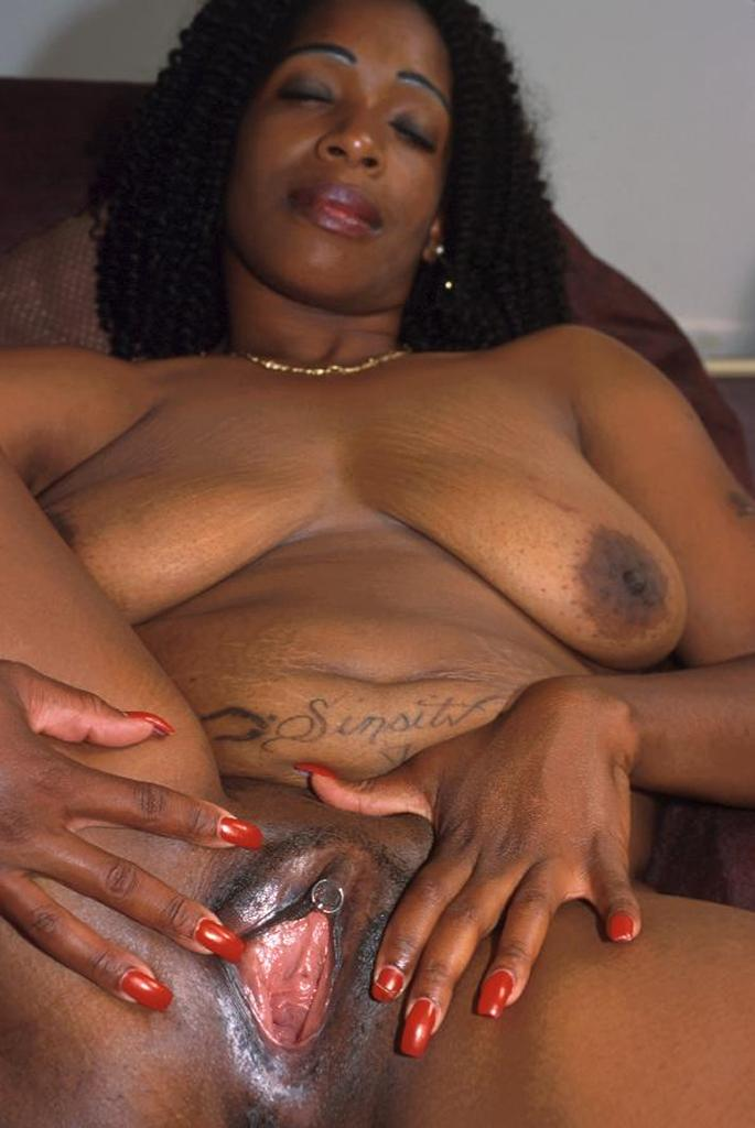 Pussy black naked fat woman